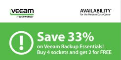 Veeam® Backup Essentials with 33% discount until end of June 2015